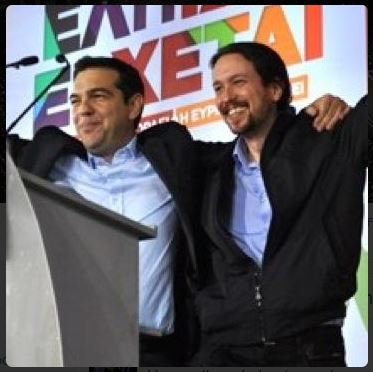 Image from Pablo Iglesias's Twitter avatar, 17th July